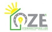 logo OZE LGD Turystyczna Podkowa